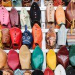 Marrakesch Schuhauslage
