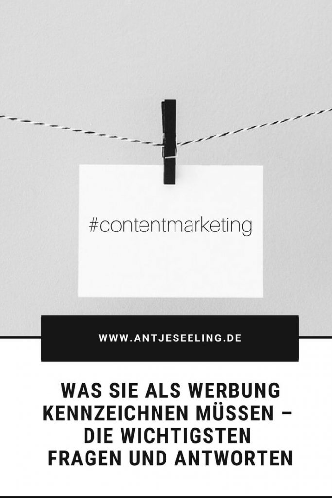 schleichwerbung im content marketing